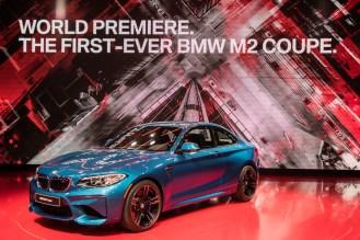 BMW M2- 2016 Detroit Auto Show-2