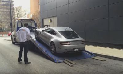 Doug deMuro's Aston Martin V8 Vantage breaks down