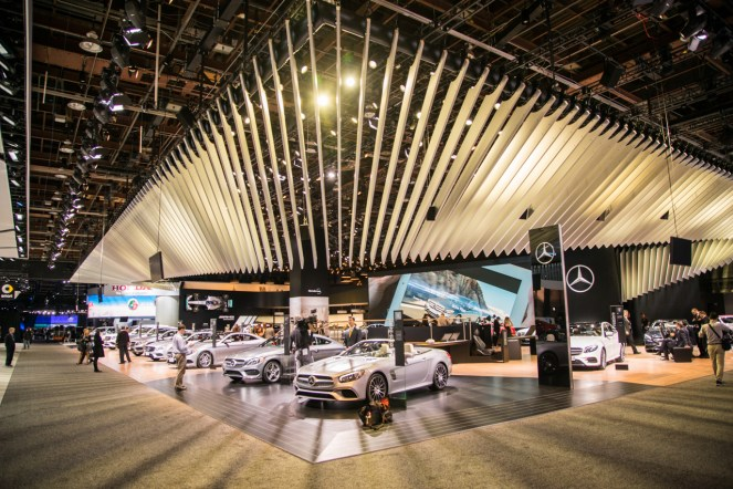 Mercedes-Benz- 2016 Detroit Auto Show