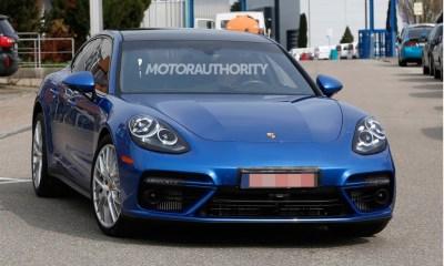 2017 Porsche Panamera Prototype spy shots-1