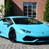 Blue Glauco Lamborghini Huracan For Sale in the US-1