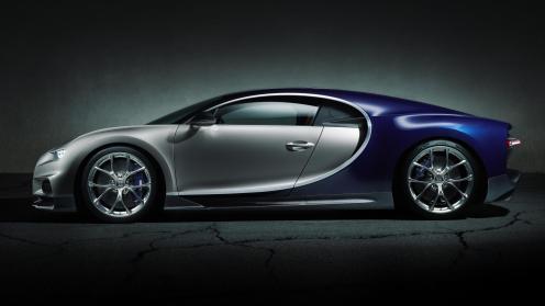 Bugatti Chiron Official Image- 2016 Geneva Motor Show-1