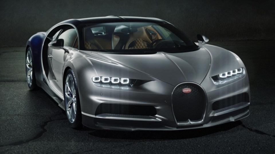 Bugatti Chiron Official Image- 2016 Geneva Motor Show-2