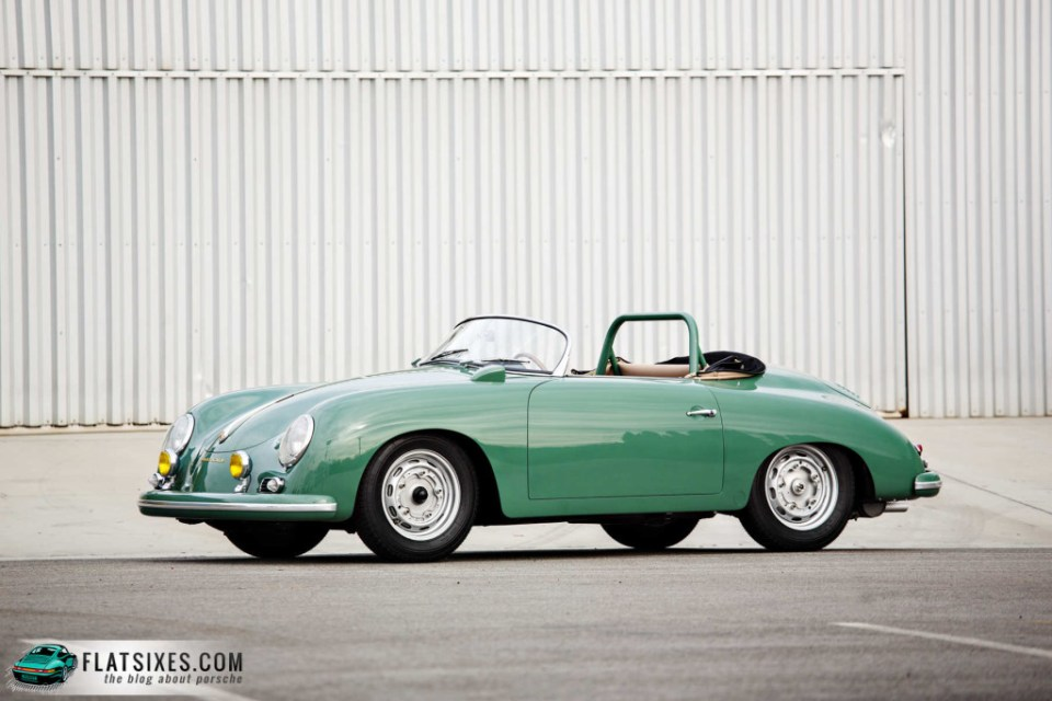 Jerry Seinfeld's Porsche Collection-1958 Porsche 356 A 1500 GS-GT Carrera Speedster