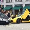 Lamborghini Aventador Crash