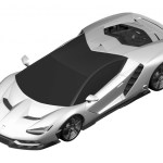 Lamborghini Centenario LP770-4 Patent Drawings-2016 Geneva Motor Show-1