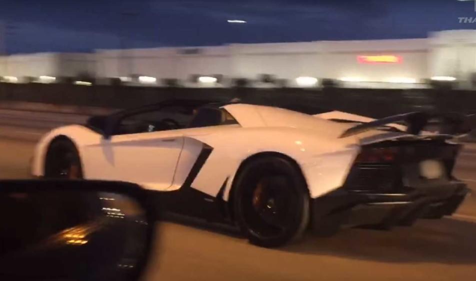 Toyota Supra vs Lamborghini Aventador drag race