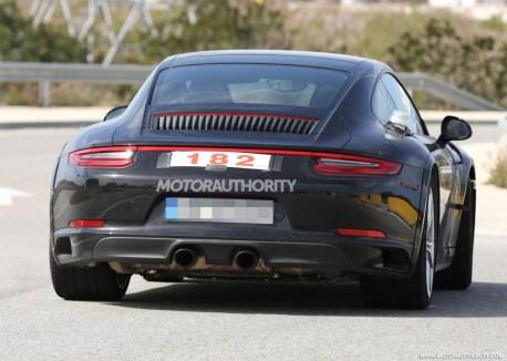 2019 Porsche 911 Prototype Caught Testing-5