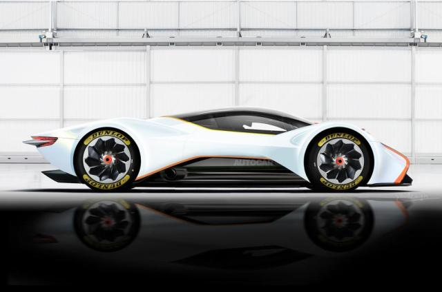 Aston Martin AM-RB 001 Rendering