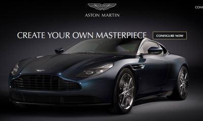 Aston Martin DB11 Configurator goes online