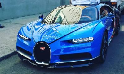 Bugatti Chiron arrives in Manhattan