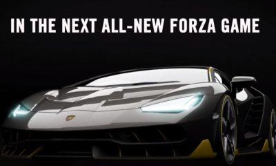 Lamborghini Centenario New Forza 6 Cover Car