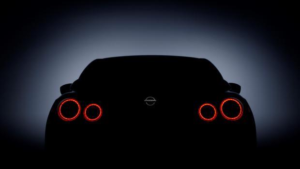 Nissan GTR teaser