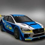 2016 Subaru WRX STI Isle of Man Record Attempt Car