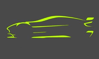 Aston Martin Vantage GT8 sketch
