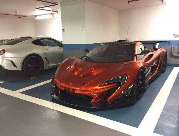 First road legal McLaren P1 GTR spotted in Monaco-2