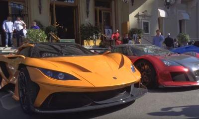 Gumpert Apollo Arrow arrives in Monaco