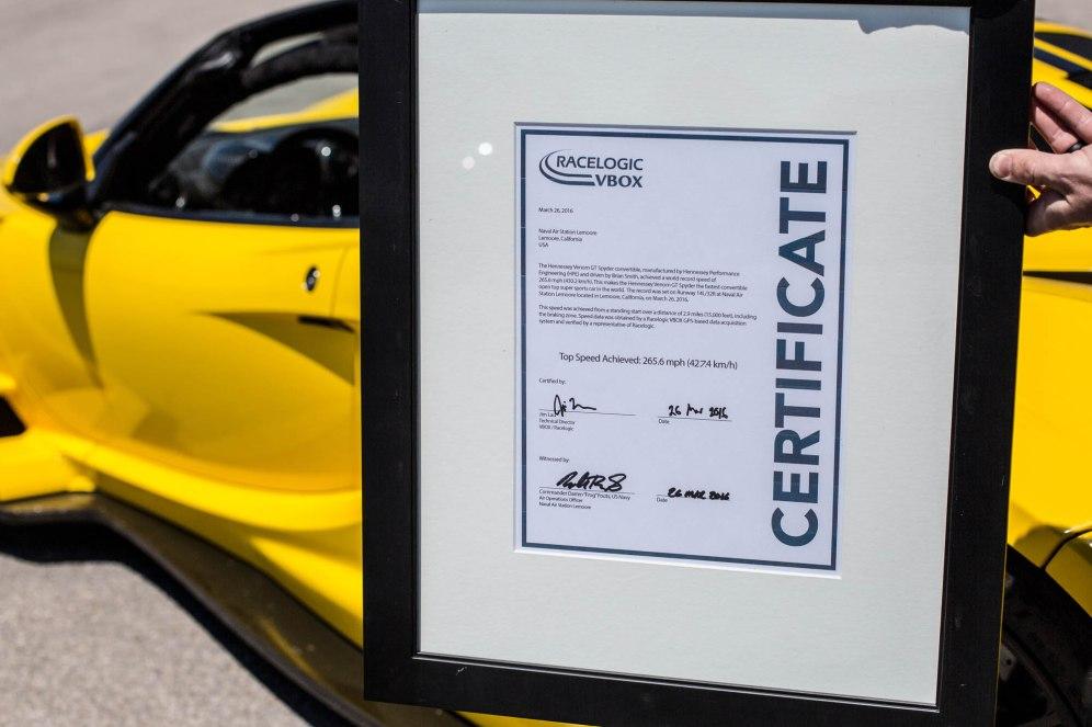 Hennessey Venom GT Spyder World Record-2