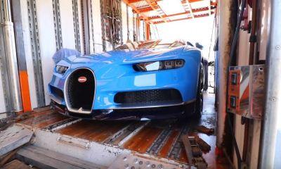 Bugatti Chiron arrives in San Diego