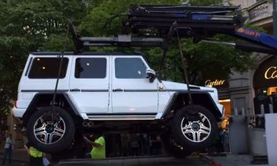 Exotic Mercedes-Benz G500 4x4 gets impounded