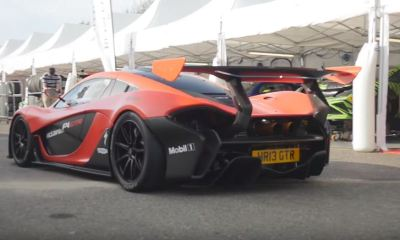 First road-legal Mclaren P1 GTR in the UK