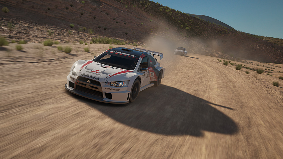 Gran Turismo Sport on PS4- Dirt Course