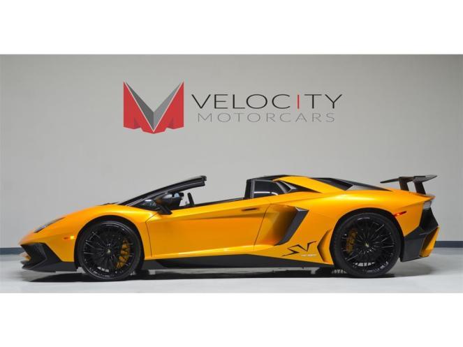 Lamborghini Aventador SV Roadster for sale-10