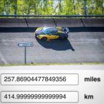 Oakley Design Bugatti Veyron Top Speed Run-1