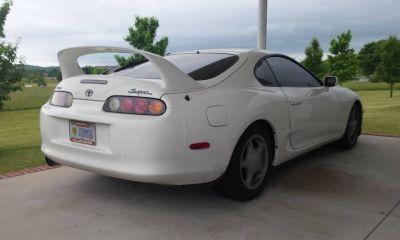 Stock Toyota Supra with 500k miles-1