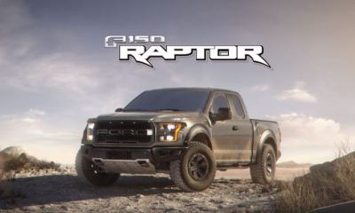 2017 Ford F-150 Raptor 3D animation