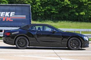 2018 Bentley Continental GT Convertible-spy shots-5