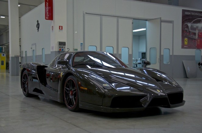 Bare Carbon Fiber Ferrari Enzo For Sale-1
