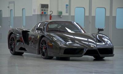Bare Carbon Fiber Ferrari Enzo For Sale-6