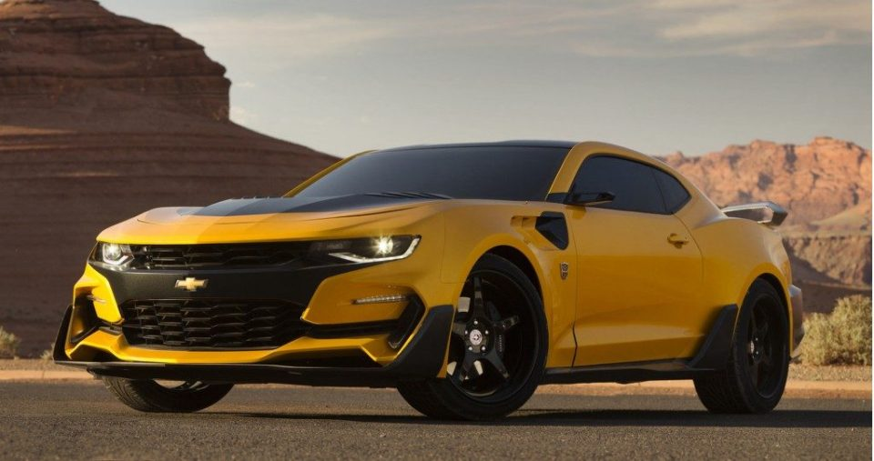 Bumblebee Camaro from Transformers- The Last Knight