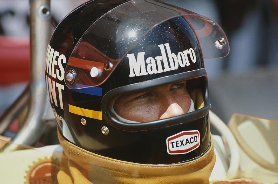 James Hunt at 1976 Spanish Grand Prix