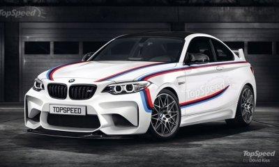 BMW M2 CSL- M2 GTS digital rendering