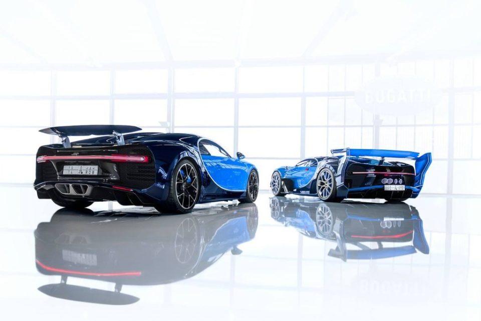 Bugatti Chiron and Vision Gran Turismo Concept sold to Saudi collector