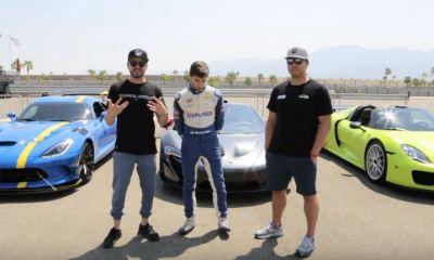 LTACY-McLaren P1 vs Porsche 918 vs Viper ACR