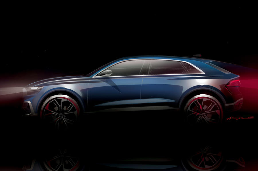 2017 Audi Q8 SUV Concept-2017 Detroit Motor Show-2
