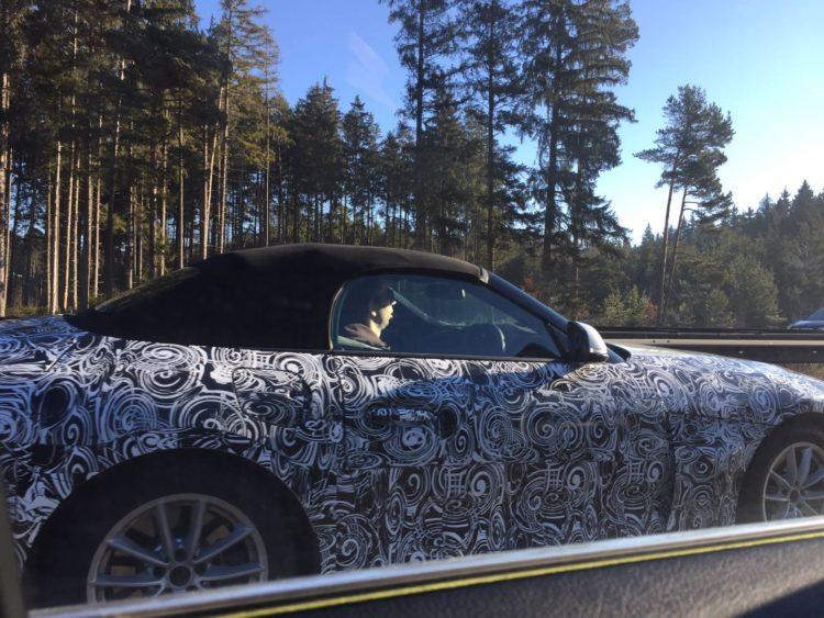 2018 BMW Z5 Prototype- Z4 Roadster spy shots-2