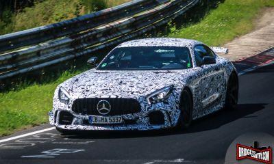2018 Mercedes-AMG GT Black Series Test Mule-prototype spotted-Nurburgring