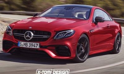 Mercedes-AMG E63 Coupe Rendered by X-Tomi Design