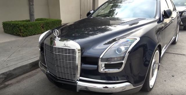 Mercedes-Benz S600 Royale spotted in Los Angeles
