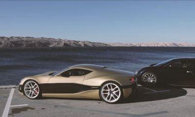 Rimac Concept One vs Bugatti Veyron