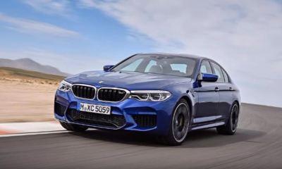 2018 BMW M5-leaked