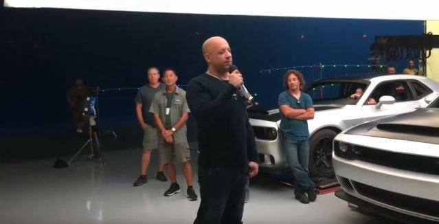 Dodge Challenger SRT Demon leaked on sets of Fast and Furious 8