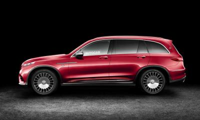 Mercedes-Maybach SUV rendering by Autocar