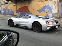 Reddit user spots Silver Ford GT cruising around Detroit-3