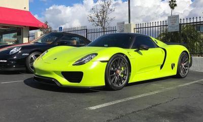 Salomondrin's Porsche 918 Spyder for sale at Evan Paul Motorcars