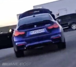 BMW M4 CS leaked images-3